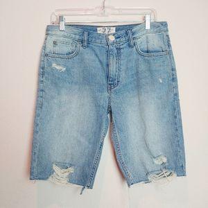 We The Free Caroline Denim Cutoff Shorts. Size 27